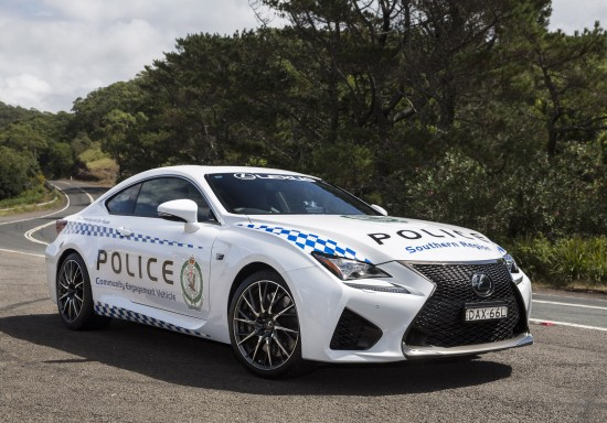 Lexus RC F NSW Police Coupe