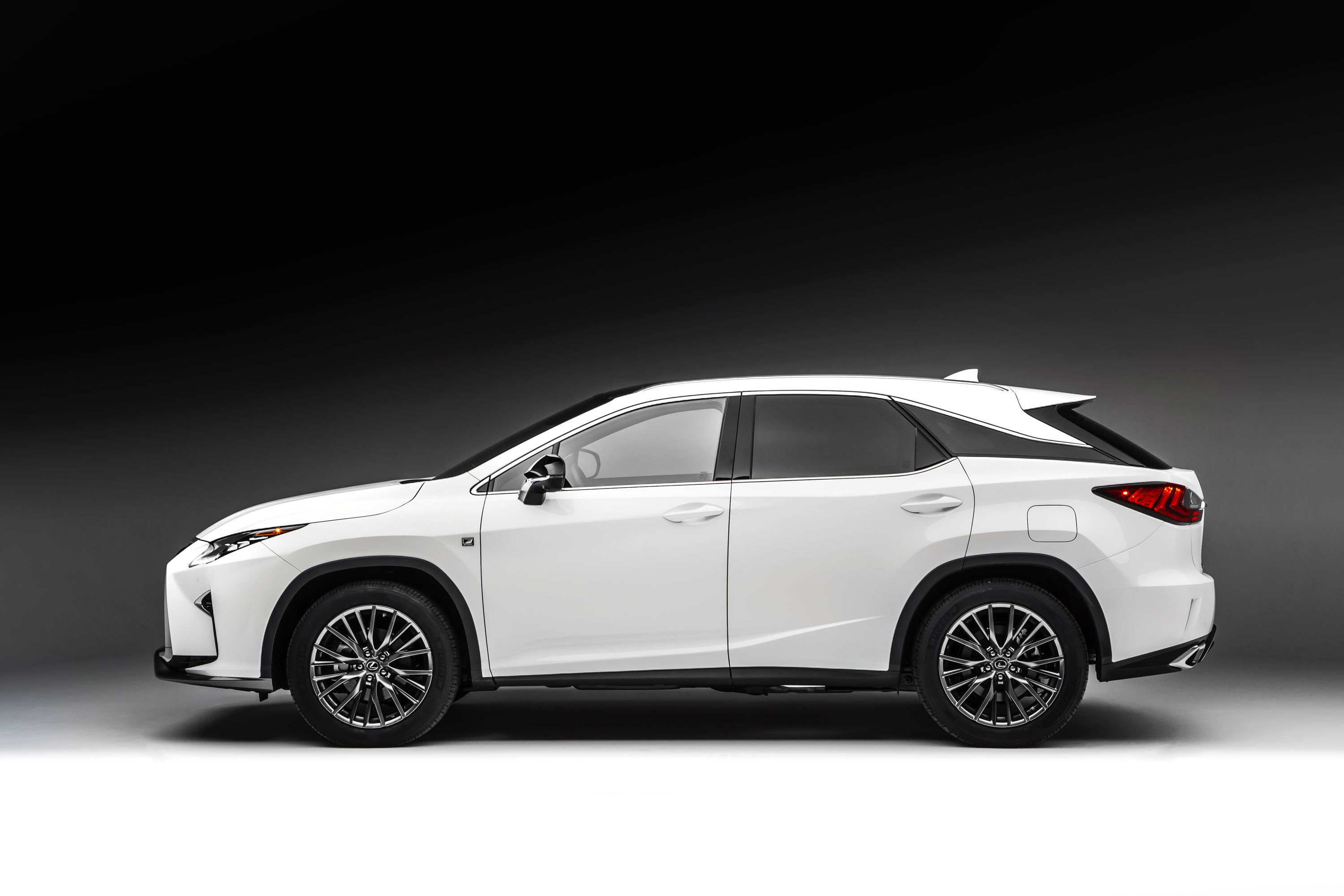 f crafted rx line lexus debut pebble beach sport detail in
