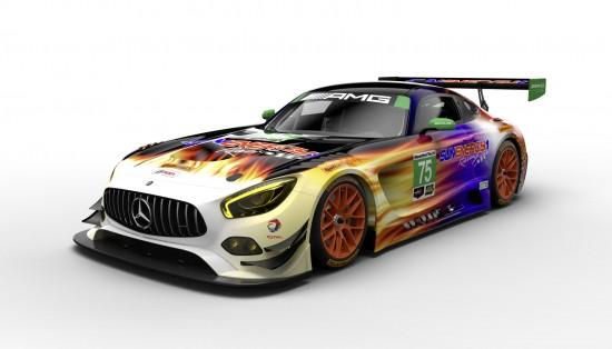 Mercedes-AMG GT3 Racecars