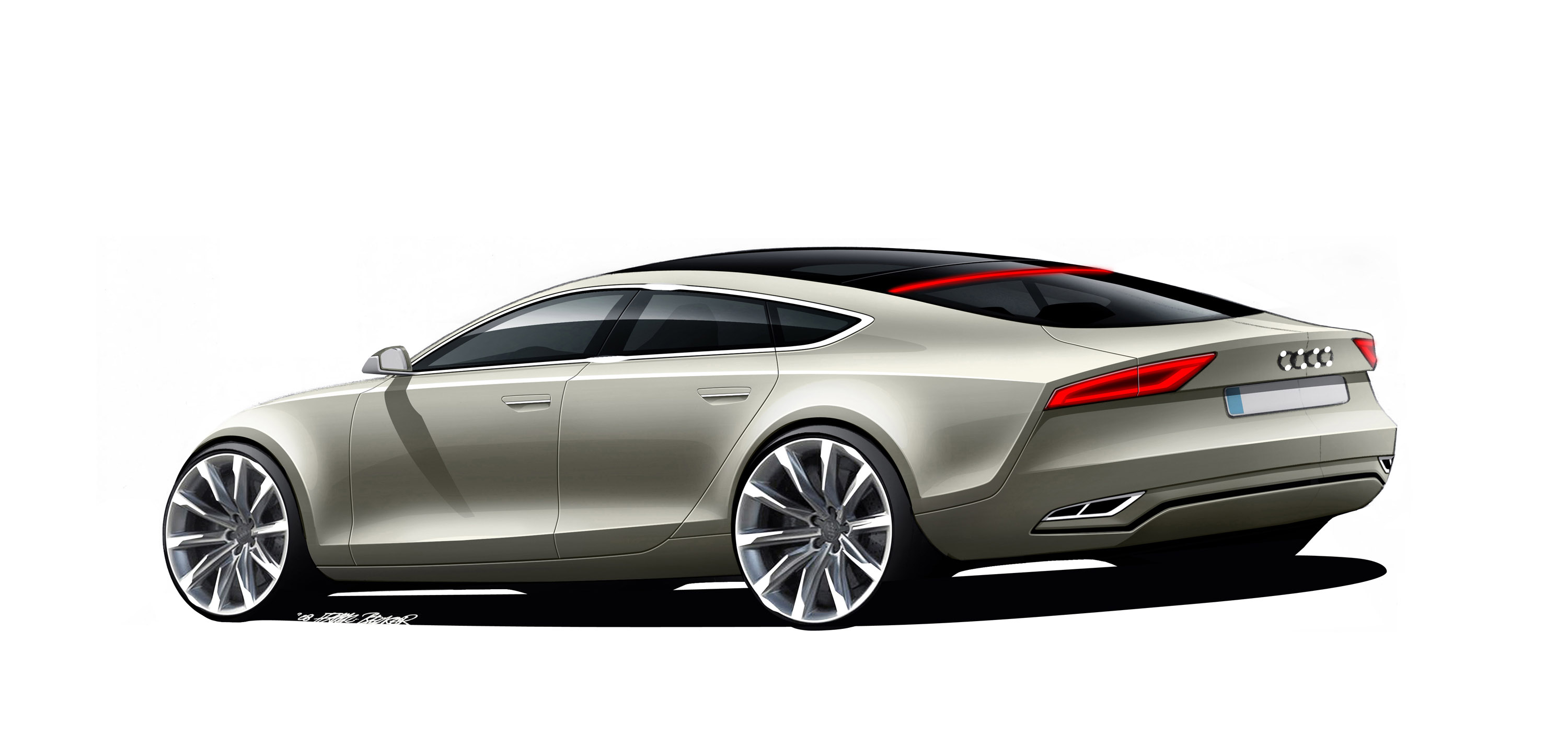 Audi A7 Sportback Concept Collection 13 Wallpapers