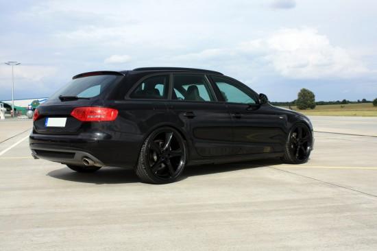 Audi A4 Avant Black. Avus Performance Audi A4 Avant