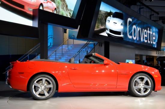 Chevrolet Camaro Convertible Los Angeles