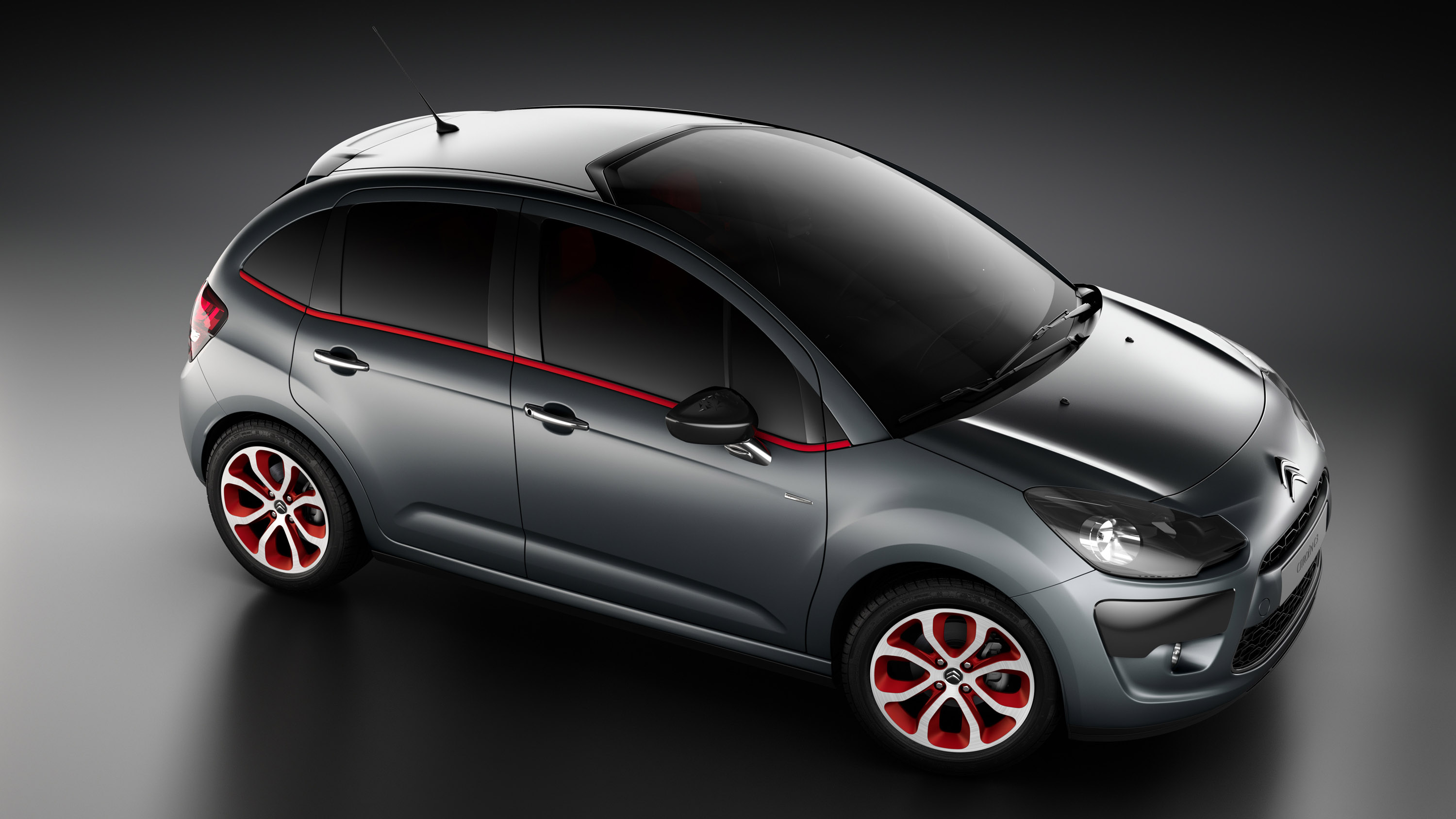 Citroen C3 Red Block Picture #3 of 6