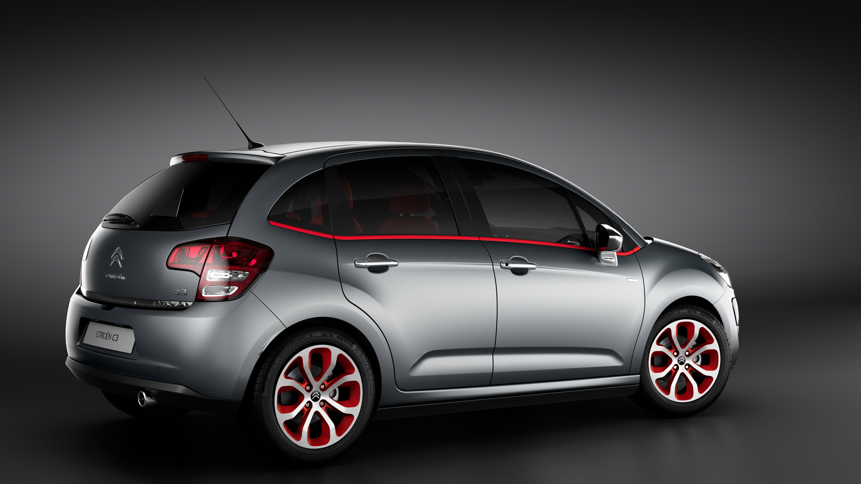 Citroen C3 Red Block Picture #4 of 6