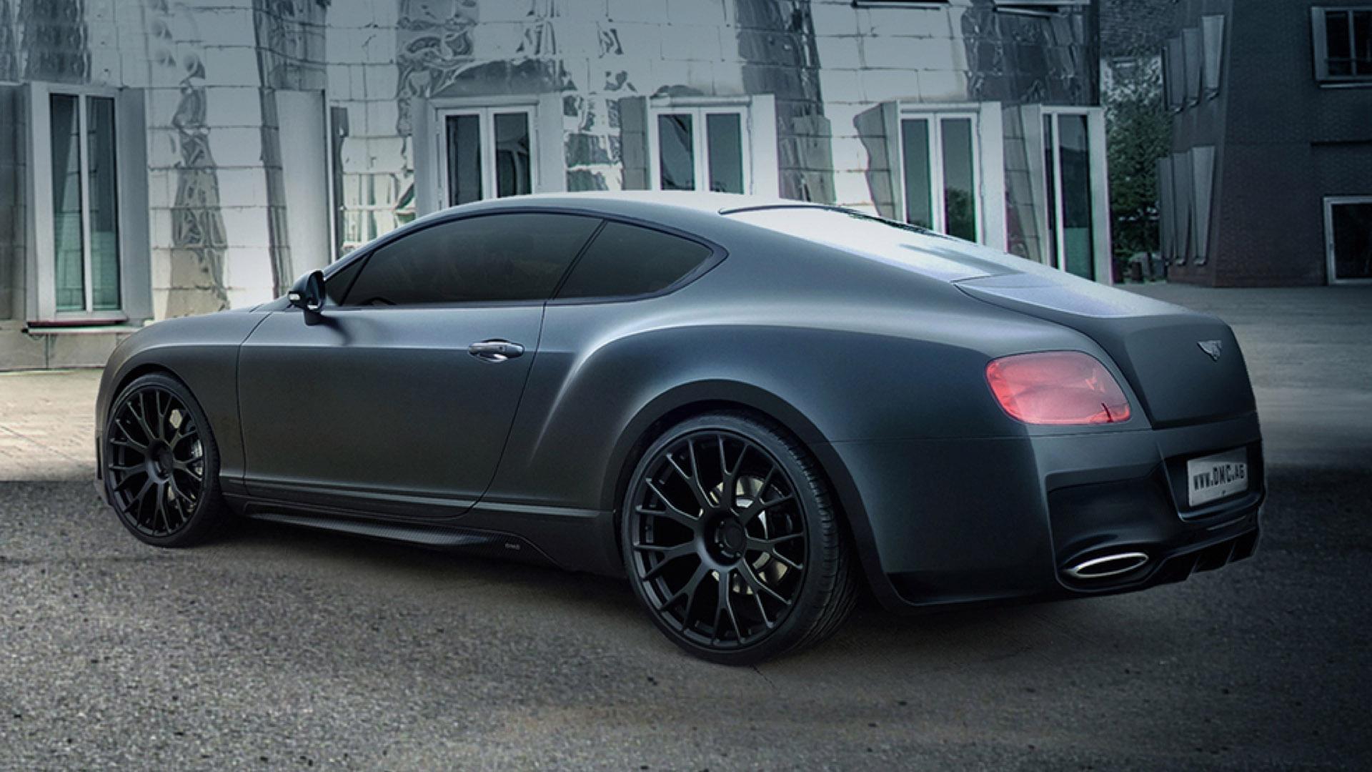 2014 Dmc Bentley Continental Gt Duro China Edition Dark Cars Wallpapers