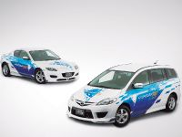 Mazda RX 8 Hydrogen RE and Mazda Premacy Hydrogen RE Hybrid