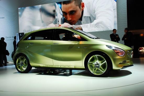 2009 Mercedes Benz Bluezero Concept. San francisco mercedes global