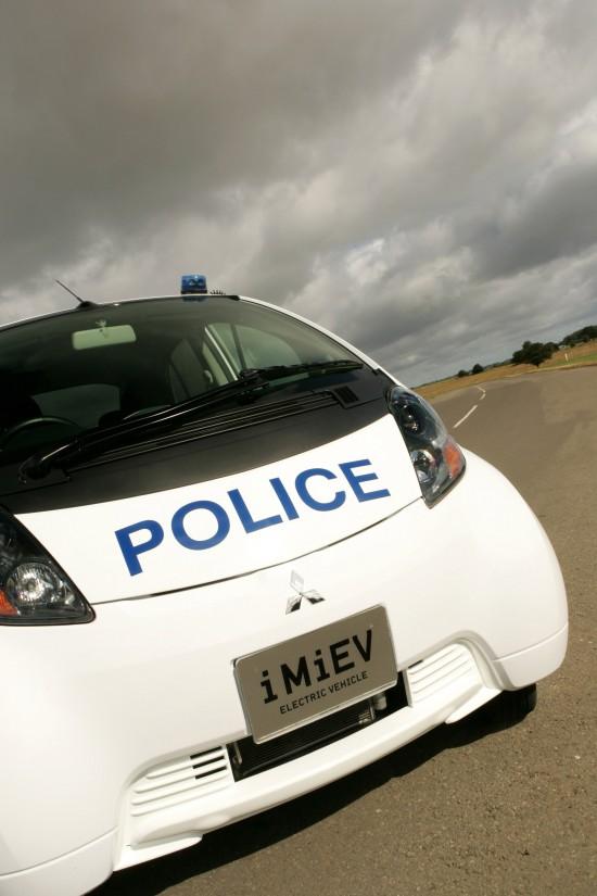 Mitsubishi i-MiEV UK Police car