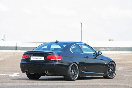 Bmw 335i Black. MR Car Design BMW 335i Black