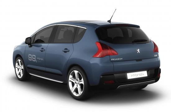 Peugeot 3008. Peugeot 3008 Hybrid4 Concept