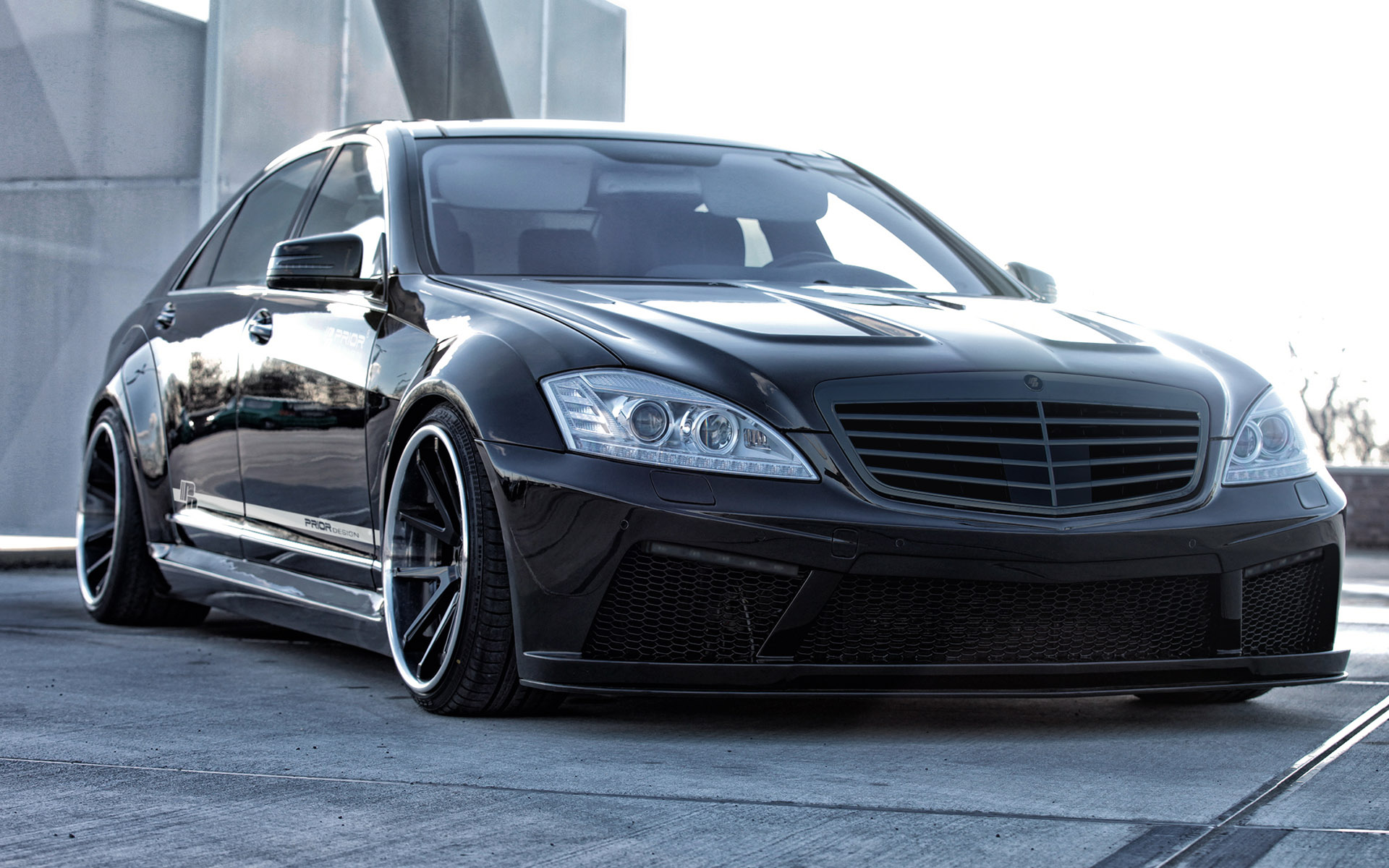 2014 prior design mercedes classe s w221 bodykit dark cars wallpapers. Black Bedroom Furniture Sets. Home Design Ideas