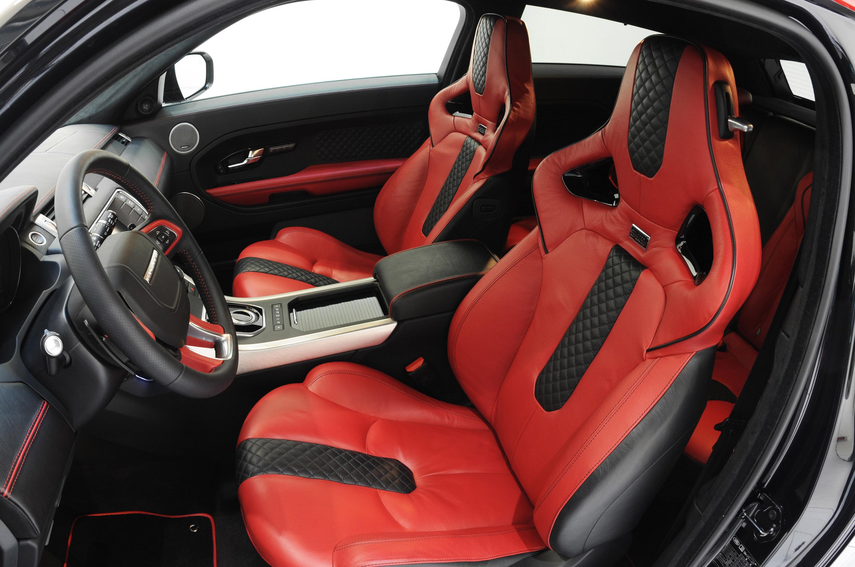 Range Rover Evoque Red Leather Interior