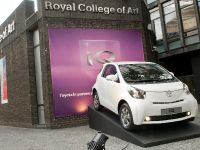 Toyota iQ exhibition at the Royal College of Art
