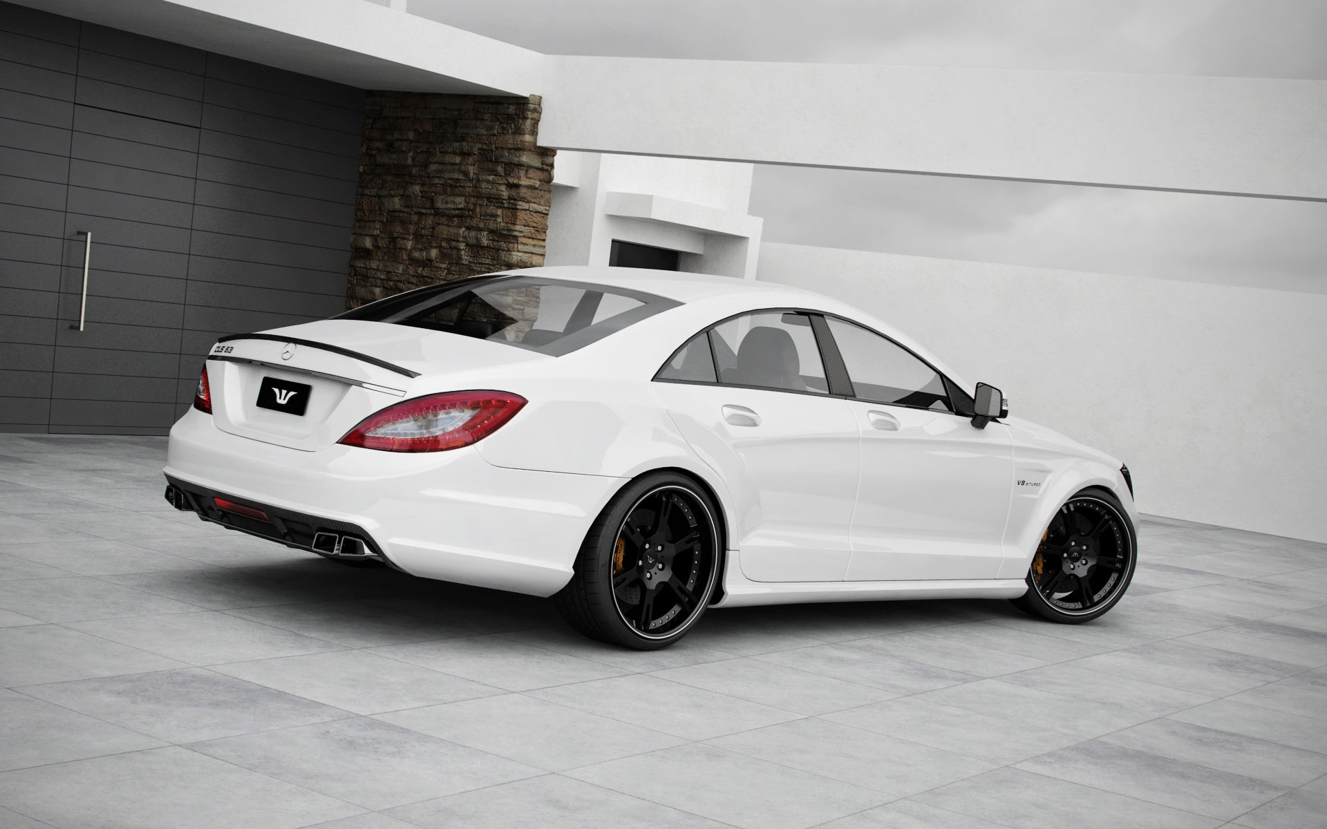 2011 wheelsandmore mercedes benz cls63 amg dark cars wallpapers. Black Bedroom Furniture Sets. Home Design Ideas