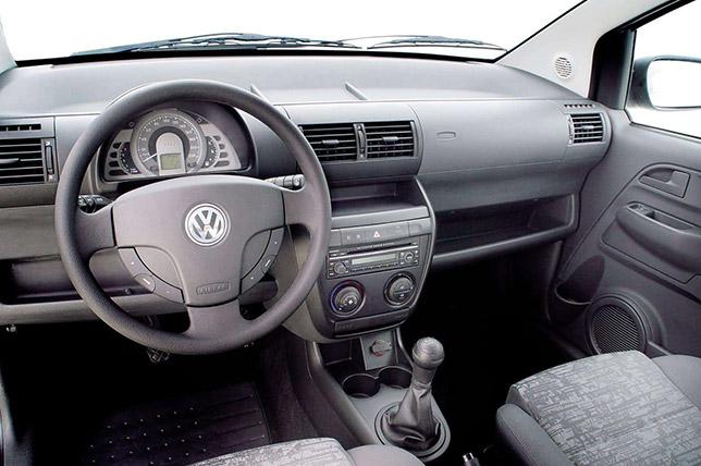 2005 VW Fox Interior