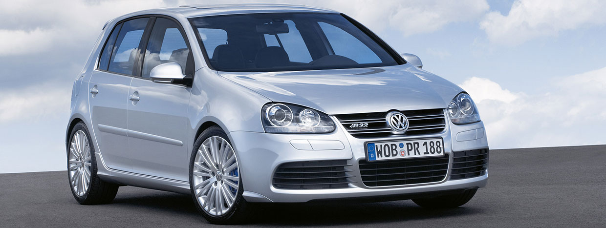 vw golf r32 front