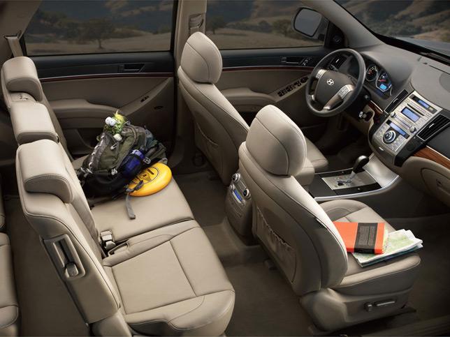 Hyundai Veracruz Interior