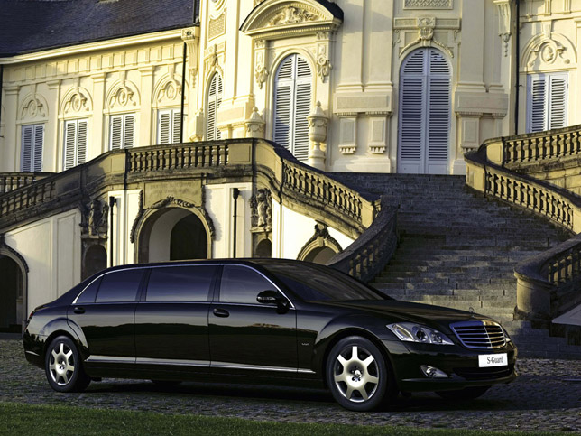 Mercedes-Benz S600 Guard Pullman