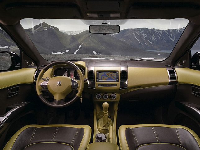 Peugeot 4007 Holland & Holland Interior