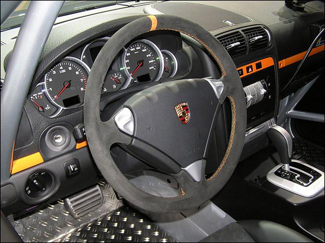 Porsche Cayenne S Transsyberia Interior