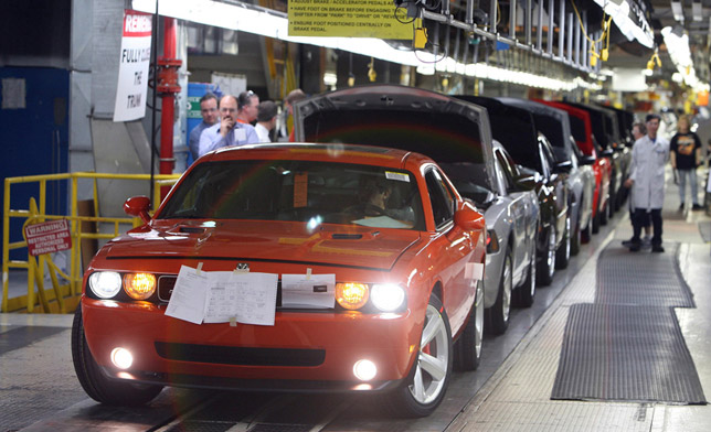 Chrysler Celebrates Production Of All New 2008 Dodge