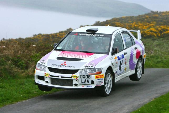 2008 Mitsubishi Ralliart Evolution Challenge