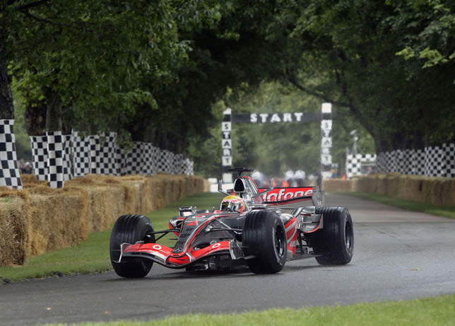 2008 goodwood Lewis Hamilton