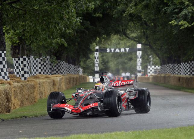 2008 goodwood Lewis Hamilton