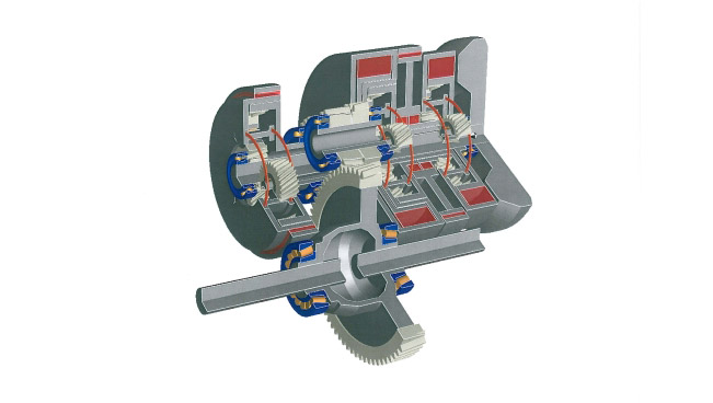 Antonov develops low cost gearbox