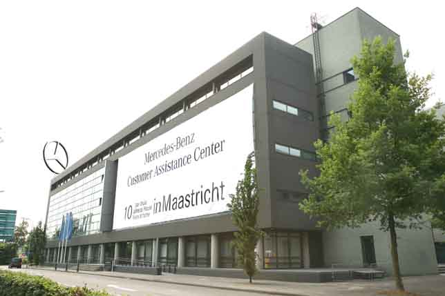 Mercedes benz customer assistance center in maastricht for Mercedes benz customer service email address