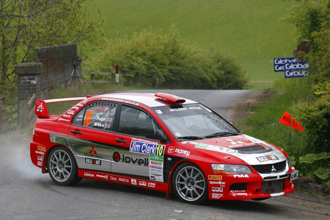 Mitsubishi Motors UK Rally Team