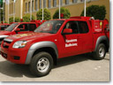 35 greek communities get Mazda BT-50 quick-response fire units