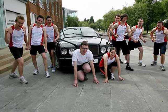 Bentley to Brooklands charity run
