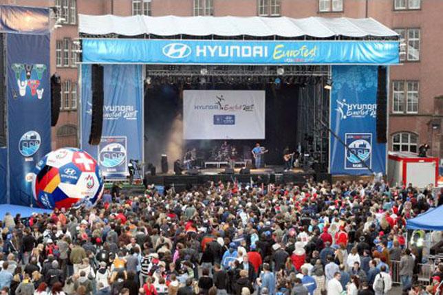 Hyundai Motor Hosts Eurofest