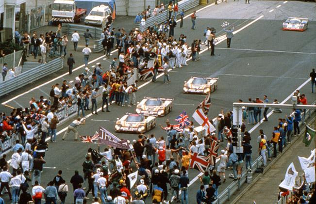 Jaguar XJR-9LM 1988 Le Mans win