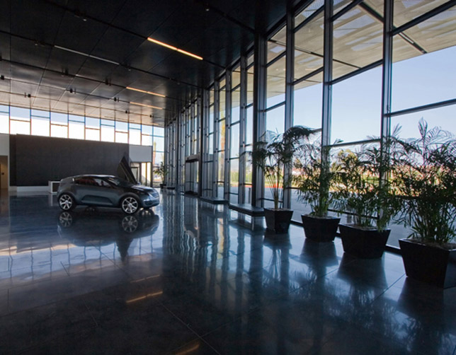 Kia celebrates grand opening of u s corporate for Kia motors irvine ca