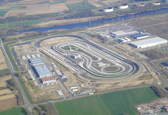 Mercedes-Benz Truck Development and Test Center in Worth