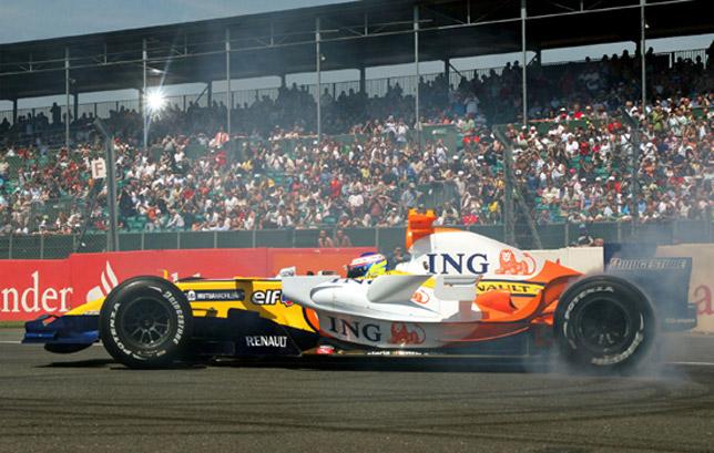 Silverstone - renault formula 1