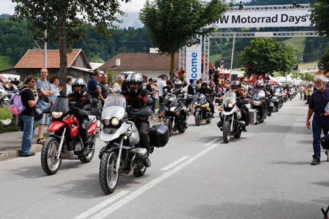 2008 BMW Motorrad Days
