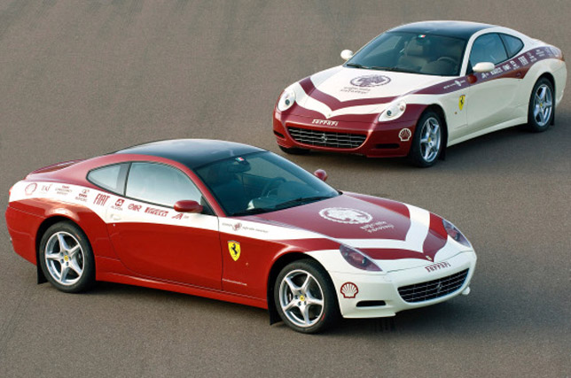 Ferrari 612 Scaglietti and Ferrari Magic India Discovery