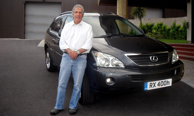 Lexus RX 400h and Henry Winkler