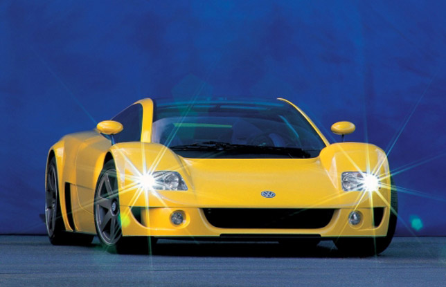Volkswagen W12 Coupe Concept (1997)
