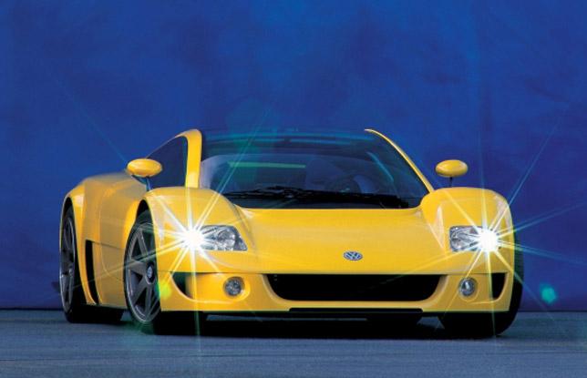 Volkswagen W12 Coupe Concept (1997)