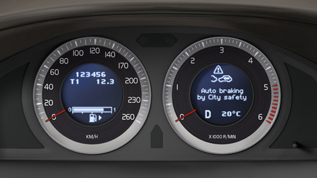 Volvo safety system