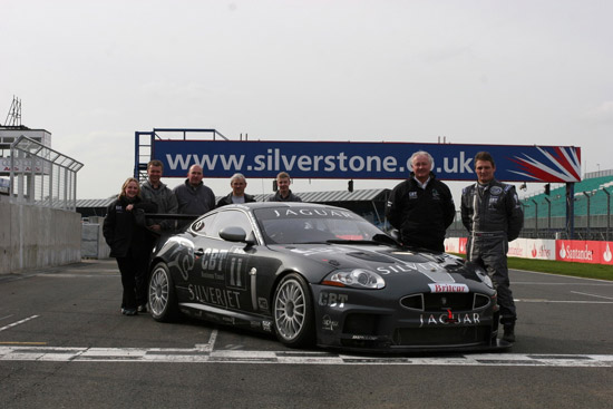 The Apex Team with Britcar drivers Stuart Scott & Chris Ryan