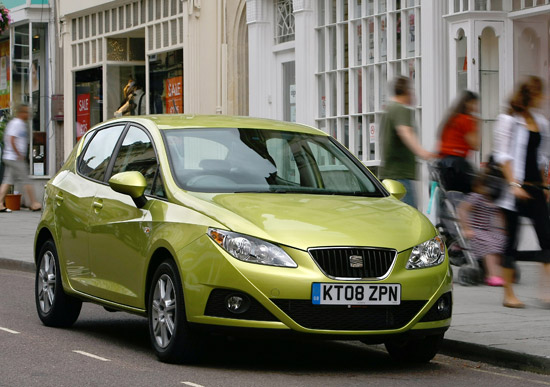 The Seat Ibiza 5dr boasts impressive residual values