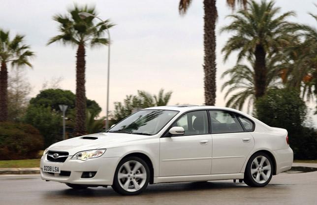 Subaru Boxer Diesel Legacy Saloon 2.0D