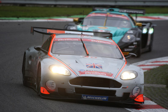 Podium finish for young British team at Spa 24 Hours