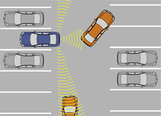 Image of Back-up Collision Prevention Operation