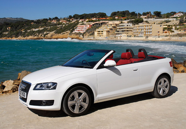 New Audi A3 cabriolet minds the gap